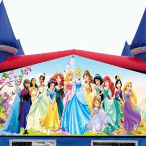 Princess Themed Bounce House