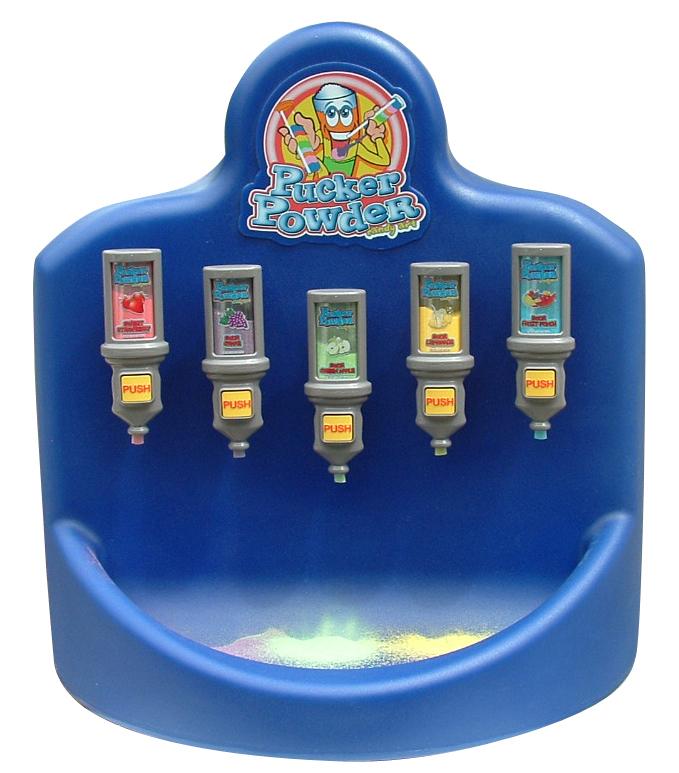 pucker powder dispenser